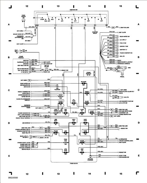 1990 Jeep Wrangler Fuse Box Diagram 1990 Jeep Fuse Box Diagram