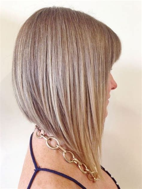 self cut long straight bob a line bobs images and video tutorials hair styles