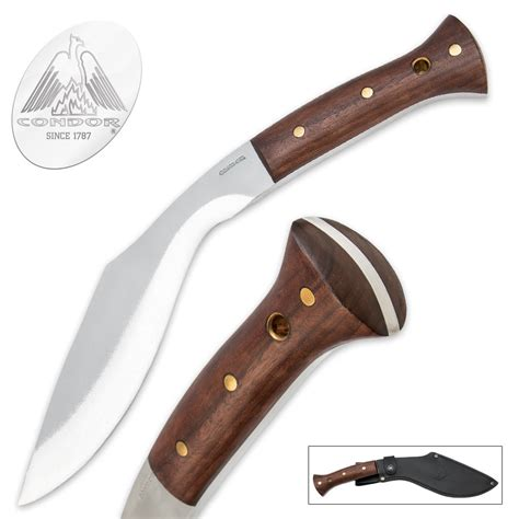 condor knives condor heavy duty kukri knife with sheath kennesaw cutlery