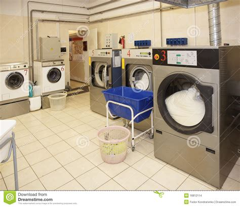 design for laundry business commercial laundry interior stock images image 16812114