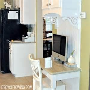 Diy Kitchen Desk Diy How To Build A Desk Its Overflowing