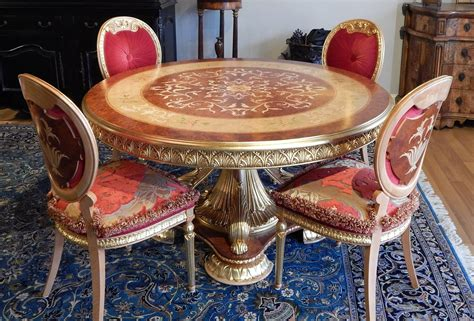Luxury Handmade Furniture - luxury handmade furniture empire style dining table