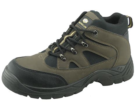 safety shoes sport miller steel brand pu nubuck leather sports safety shoe