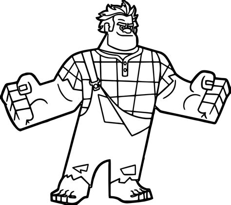 coloring pages wreck it ralph wreck it ralph i am here coloring page wecoloringpage