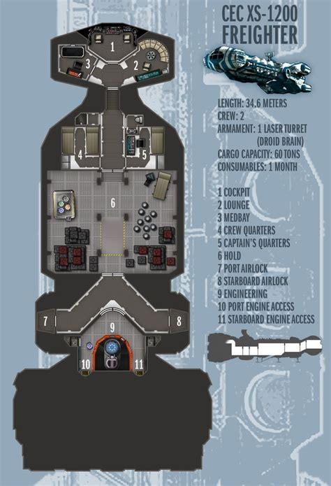 star wars ship floor plans cec xs 1200 freighter by boomerangmouth on deviantart