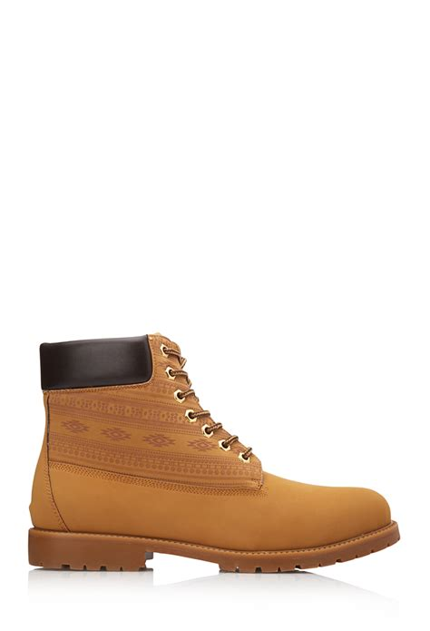 forever 21 out west boots in brown for lyst