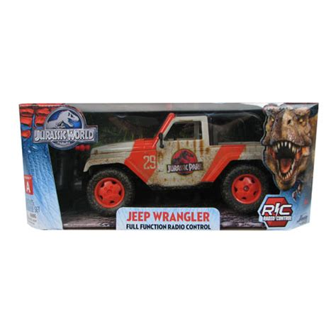 jurassic world jeep toy jurassic world jeep wrangler remote control vehicle jada