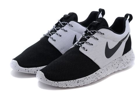Nike Rhoserun Black White nike rosherun id oreo black white black 511881 106 mens