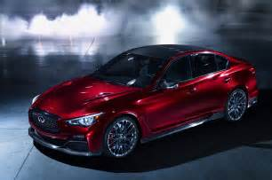 Infinity Q 50 Infiniti Q50 Eau Concept Front Three Quarter Photo 2
