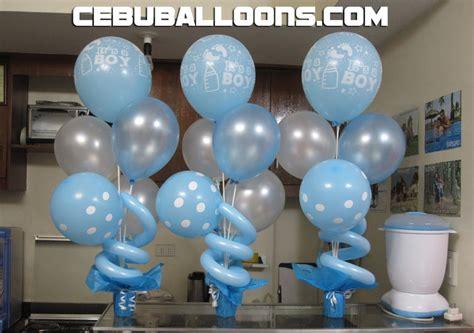 Baptismal Balloon Decor balloon decorations for christening favors ideas