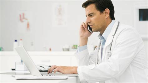 doctor the phone cautious doctors use telemedicine to diagnose flu abc news