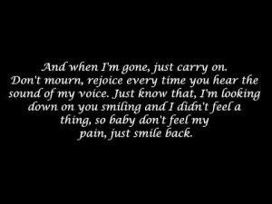eminem when i m gone lyrics eminem when im gone quotes quotesgram
