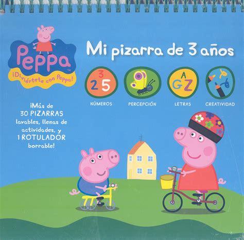 libro jugar y aprender con comprar libro peppa pig 3 a 209 os mi pizarra para jugar y aprender