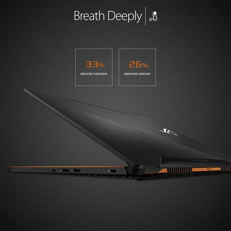 Asus Rog Zephyrus Gx501vi Gz001t I7 7700hq 512gb Ssd asus gx501vi rog zephyrus 15 6 inch gaming laptop black intel i7 7700hq 16gb ram