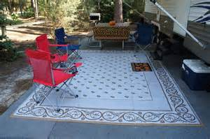 Rv Outdoor Patio Mats Campsite Setup Camp Out Pinterest