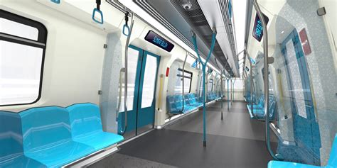 Metro Interiors by Kuala Lumpur Gets New Metro Designed By Bmw