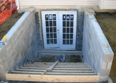 walkout basement door basement walkout entrances basement renovations toronto