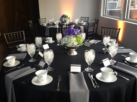 Table setting for corporate event   Table Settings   Table