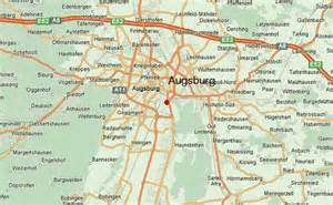 Augsburg Germany Map by Augsburg Location Guide