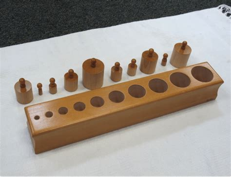 Knobbed Cylinder by How To Present Montessori S Knobbed Cylinders Lesson