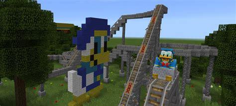 theme generator minecraft disneypark theme park creation minecraft pe maps