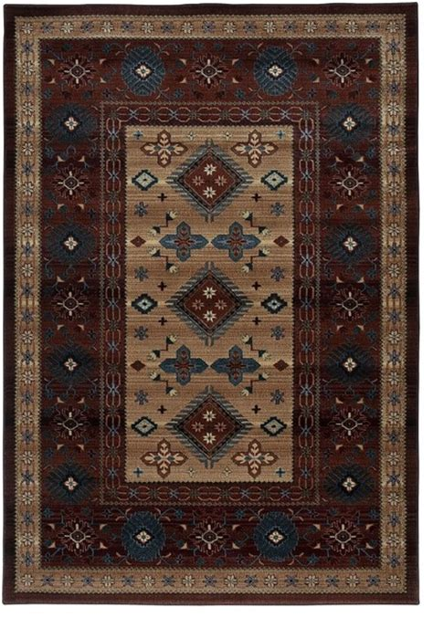 Lodge Rugs by Southwestern Lodge Bellevue Area Rug Rustic Area Rugs