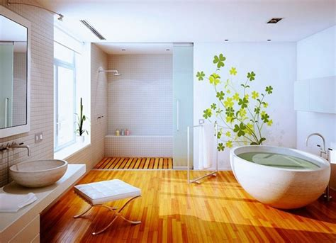 Floor Bathroom Decorating Ideas Clean Wood Floor Bathroom Ideas