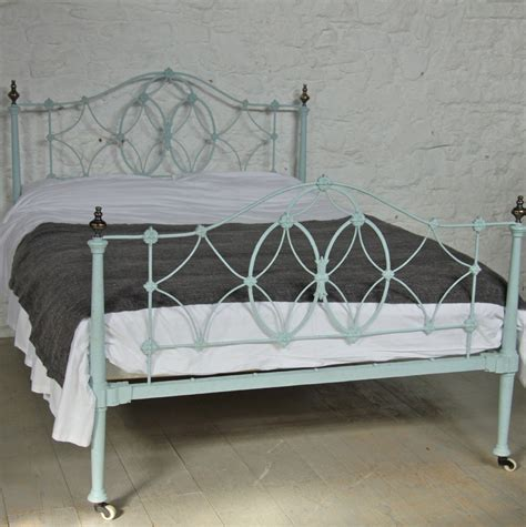iron bed king rare very pretty early victorian iron king size bed