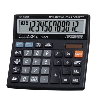 Citizen Calculator Ct 555 N welcome to metropol corporate solutions