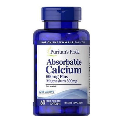 600 supplement payment calcium absorbable calcium 600 mg magnesium 300 mg