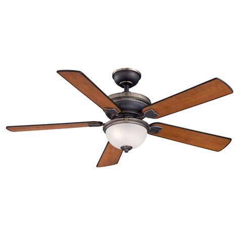 home decorators collection ceiling fan home decorators collection colbert 52 in indoor tarnished