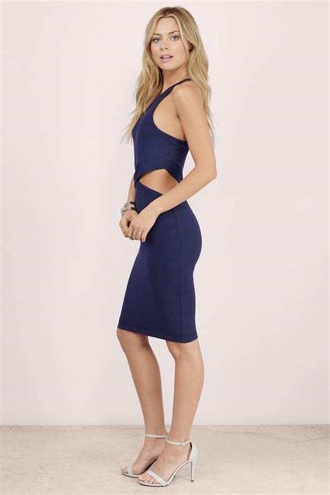 Midi Dress Vb Blink tobi cut out midi dress shoppr