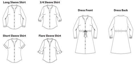 shirt pattern to sew shirt sewing patterns pdf lera sweater