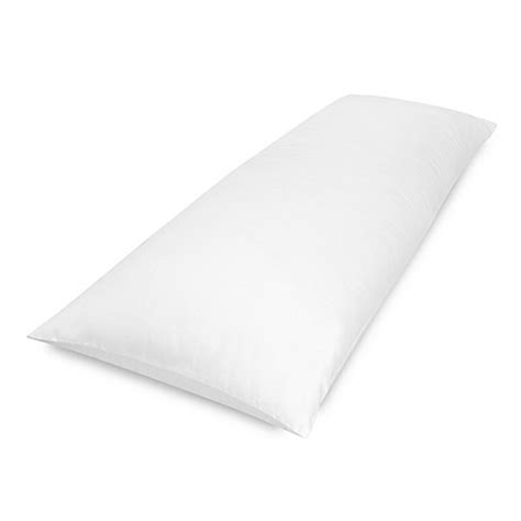 body pillows bed bath and beyond therapedic 174 theraloft body pillow with coolmax 174 in white