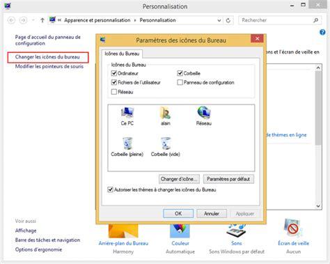 windows 8 icone bureau bureau de windows et raccourcis aidewindows