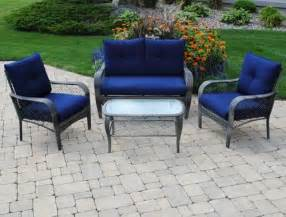 Patio Furniture At Menards Backyard Creations 4 Aspen Seating Collection At