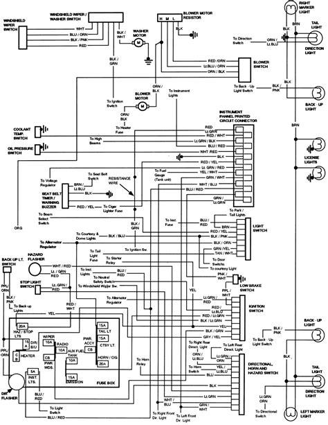ford   wiring schematic  wiring diagram
