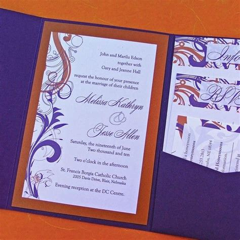 25 best ideas about orange wedding invitations on burnt orange weddings fall
