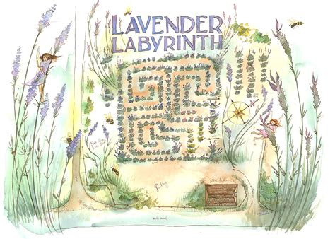 lavender labyrinth cowichan valley lavender labyrinth
