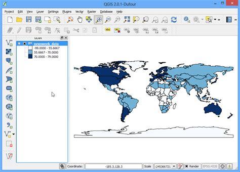 qgis tutorial carte principali tematizzazioni per dati vettoriali qgis