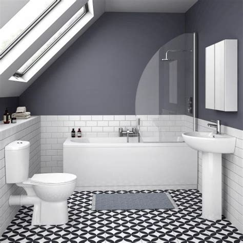 modern bathroom suite 10 of the best budget bathroom suites housetohome co uk