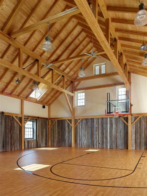 indoor basketball court houzz