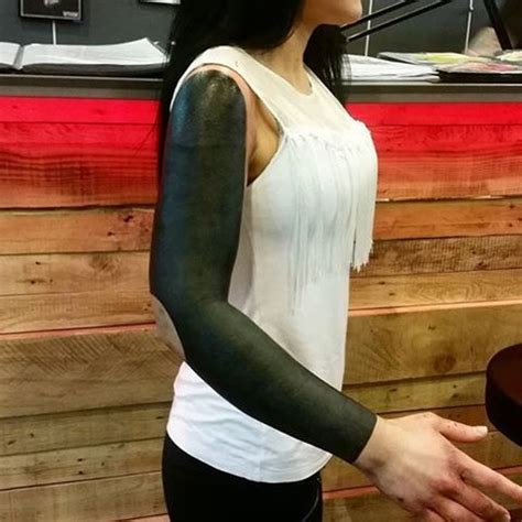 blacked out arm tattoo 29 best black arm images on blackout