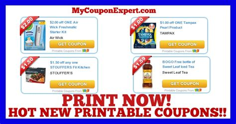 Airwick Printable Coupons