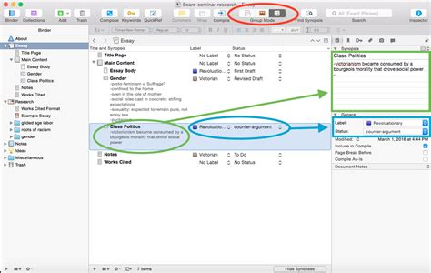 Microsoft Word 2016 Outline View by Scrivener Free Trial Gender Sexuality And The Built Environment Research Tools And