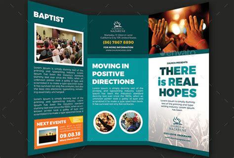 20 nice church brochure templates psd indesign