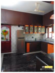 Kitchen Interiors Photos by Kerala Kitchen Designs Idea In Modular Style For House In