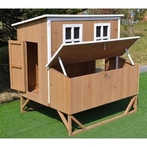 backyard hen house omitree new large wood chicken coop backyard hen house 4 8