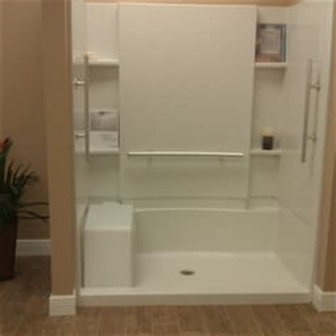 Sterling Walk In Shower by Citrus Plumbing Kitchen And Bath Gallery Get Quote Plumbing 1237 Us 41 Bypass S Venice