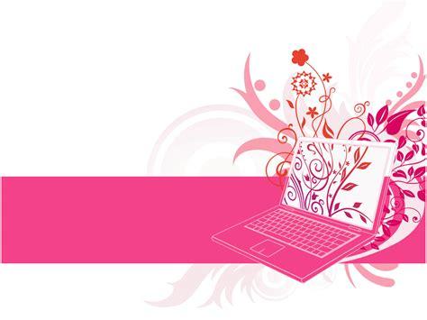 design laptop background laptop floral design backgrounds presnetation ppt